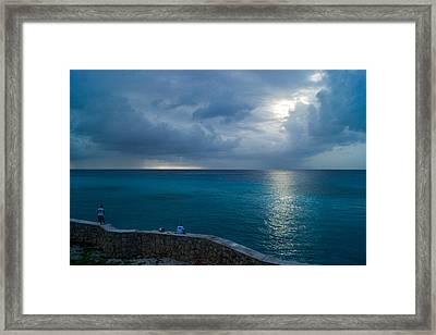Fishermen Framed Print