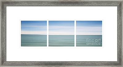 Fishers Island Sound Framed Print by Sabine Jacobs