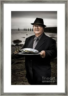Fishing And Consumption Framed Print by Jorgo Photography - Wall Art Gallery