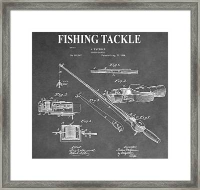 Fishing Tackle Framed Print