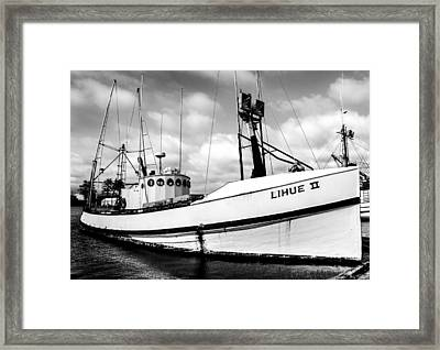 Fishing Vessel Lihue II Framed Print