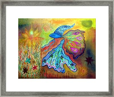 Fishstiqueart 2010 Framed Print by Elmer Baez