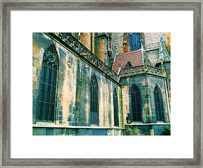 Five Window Arches Framed Print