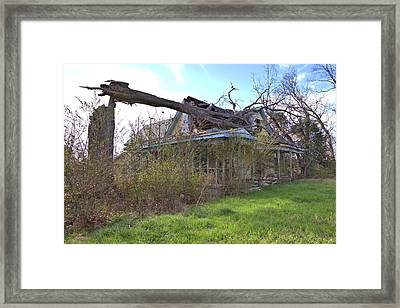 Fixer Upper Framed Print by Gordon Elwell