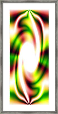 Flash Framed Print by Christopher Gaston