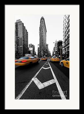 Iconic Structures Framed Prints