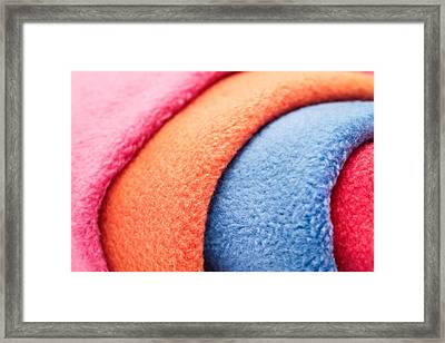 Fleece Framed Print by Tom Gowanlock