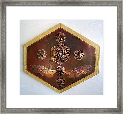 Flight For Life Framed Print