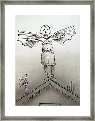 Flight Framed Print by H James Hoff