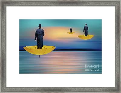Pow Wow Flight Of Fancy Framed Print