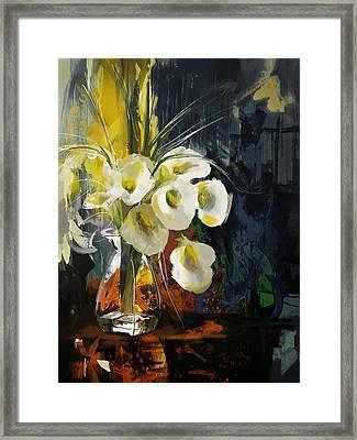 Floral 6 Framed Print