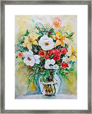 Floral Arrangement IIi Framed Print
