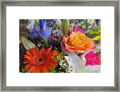 Floral Bouquet 5 Framed Print
