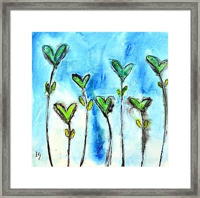 Flores Para Enamorar Framed Print