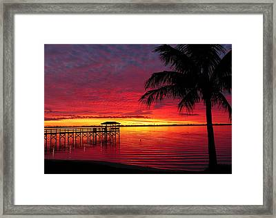 Florida Sunset IIi Framed Print
