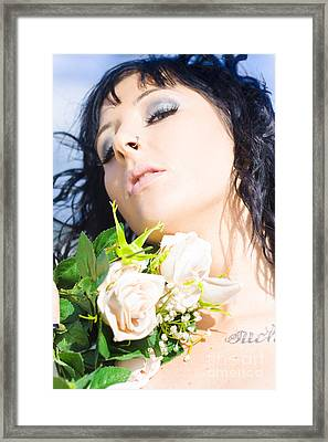 Flower Beauty Framed Print by Jorgo Photography - Wall Art Gallery