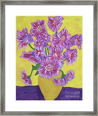 Flowers Framed Print by Carol Lynch