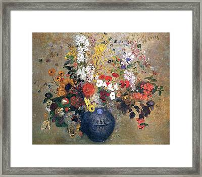 Flowers  Framed Print by MotionAge Designs