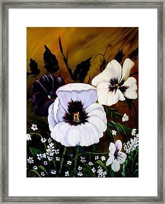 Flowers Framed Print by Shirwan Ahmed