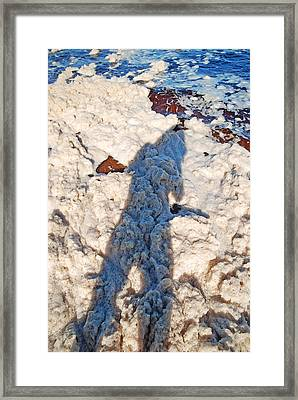Framed Print featuring the photograph Foamscape by Ankya Klay