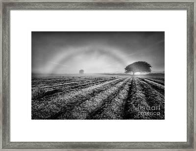 Fog Bow Framed Print by John Farnan