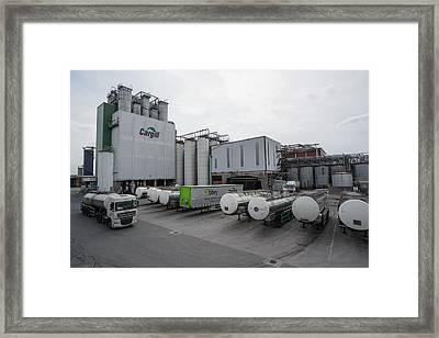 Food And Beverage Industry Framed Print