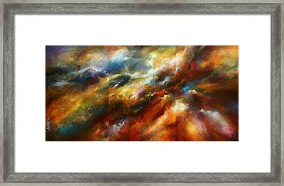 'force Of Nature' Framed Print by Michael Lang