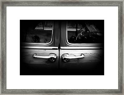 Ford 1 Framed Print by Amanda Stadther