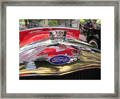 Ford Classic Car  Framed Print by Max Lines