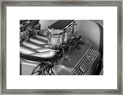Ford Engine Framed Print