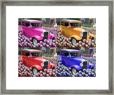 Ford Framed Print by Moshfegh Rakhsha