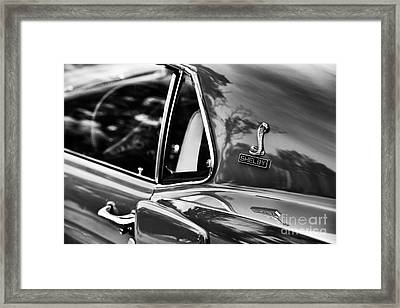 Ford Shelby Mustang Gt350 Framed Print by Tim Gainey