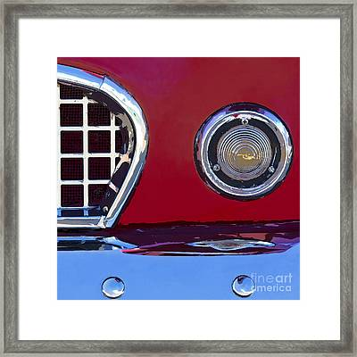 Ford Thunderbird Framed Print by Elena Nosyreva