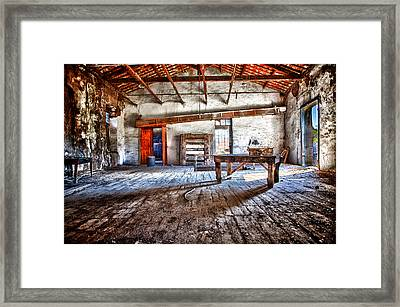 Forgoten Framed Print by Emmanouil Klimis