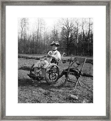 Former Empress Alexandra 1917 Framed Print