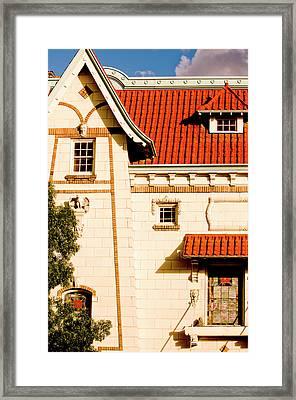 Former Liberty Theater Building, Walla Framed Print by Nik Wheeler
