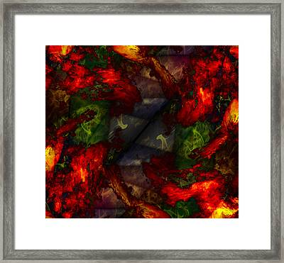 Formless And Void Framed Print by Christopher Gaston