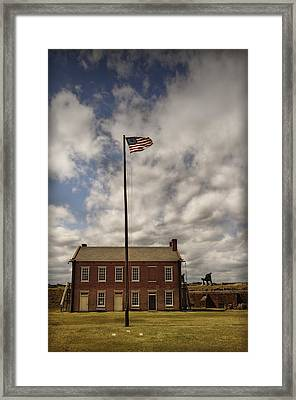 Fort Clinch Framed Print