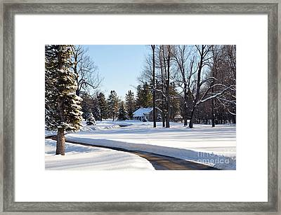 Framed Print featuring the photograph Fort Drum by Gina Savage