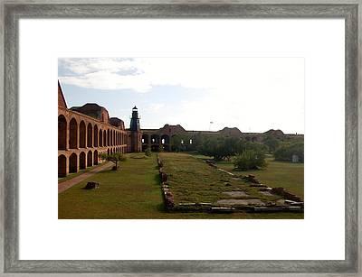 Fort Jefferson Prison Framed Print