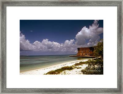 Fort Jefferson  Framed Print by Skip Willits