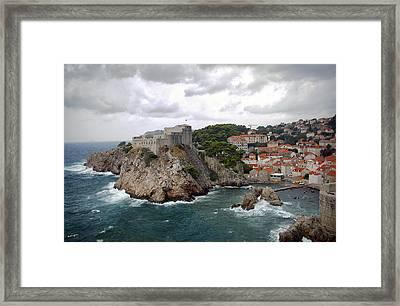 Fort Lovrijenac - Dubrovnik - Croatia Framed Print by Madeline Ellis