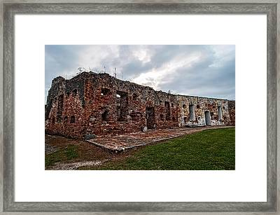 Fort Pike Framed Print by Andy Crawford