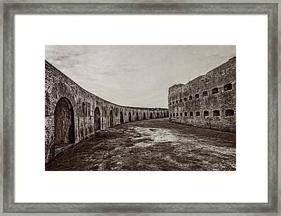 Fort Pike Parade Ground Framed Print