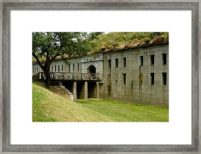 Fort Warren George's Island Framed Print by Gail Maloney