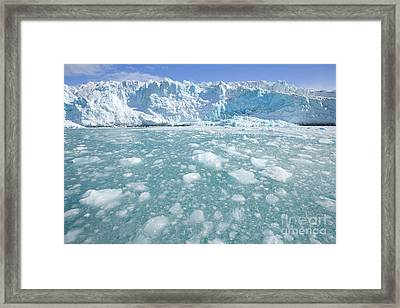 Fortuna Glacier Descending  Framed Print