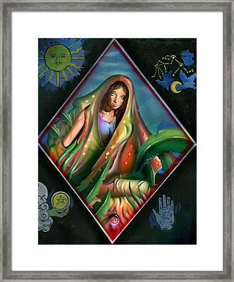 Fortune Teller Framed Print by Luis  Navarro