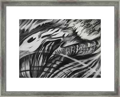 Fossil Spirit Framed Print