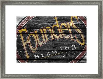 Founders Framed Print by Joe Hamilton