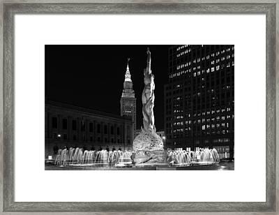 Fountain Of Eternal Life Framed Print